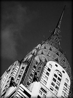 Chrysler Building's Apex Photograph by James Aiken #photography #jamesaiken #chryslerbuilding