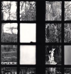 Michael Kenna, Window View, Château d'Haroué, Lorraine, France. 2013.