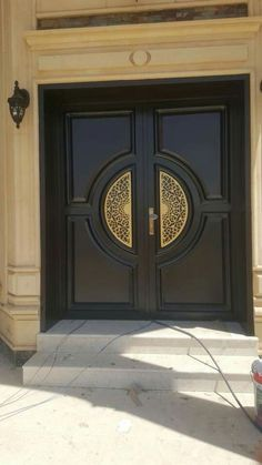 ideas entrance door design luxury balconies - Home Design House Main Door Design, Home Door Design, Main Entrance Door Design, Wooden Main Door Design, Double Door Design, Door Gate Design, Door Design Interior, Front Door Design, Entrance Doors