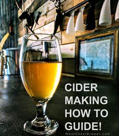 How to make cider at home