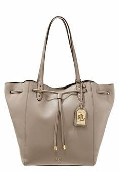 Lauren Ralph Lauren OXFORD - Handbag - porcini £310.00 #Reviews #relevant #DesigerClothing