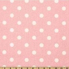 pretty in pink polka dots Polka Dot Fabric, Pink Polka Dots, Pink Dot, Bee Shop, Room London, Premier Prints, I Love Lucy, Buy Fabric, Home Decor Fabric