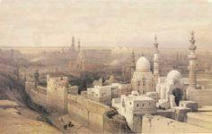 Cairo, looking west