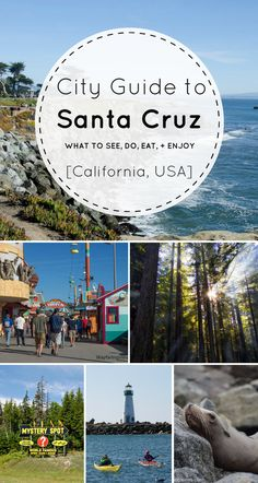 Headed to California soon?! Come check out all the things to do to in Santa Cruz! Even with just a weekend in Santa Cruz, you can still see and do so much!