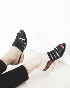 ceri hoover  minimalist mules shoes