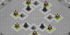Layout del Villaggio Clash of Clans: i principi di base