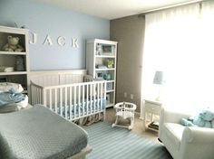 soothing+nursery+ideas | and Soothing Baby Blue Nursery - Nursery Designs - Decorating Ideas ...