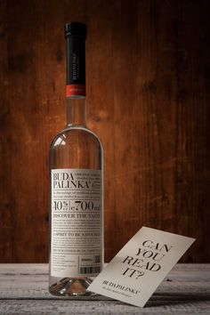 Buda Palinka concept Design.  http://www.thedieline.com/blog/2015/3/19/concepts-we-wish-were-real