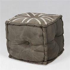 hoker, pufa w stylu brytyjskim do salonu lub przedpokoju Outdoor Furniture, Outdoor Decor, Ottoman, Chair, Home Decor, Decoration Home, Room Decor, Stool, Home Interior Design