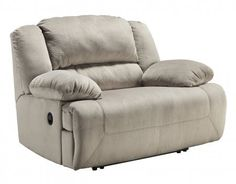 Ashley Toletta 5670352 59 Zero Wall Wide Seat Recliner with Thick Bustle Back Design Pillow Padded Arms and in Metal DropIn Unitized Seat Box in ** You can find out more details at the link of the image.