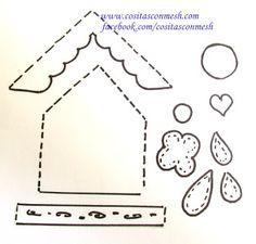 Manualidades-Cajita decorada con gallinitas en fomi -Goma eva  Y pensar que la idea de hacer esta cajita para los huevos de la cocina  surgi...
