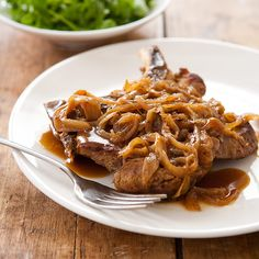 Smothered Pork Chops Recipe - Cook's Country