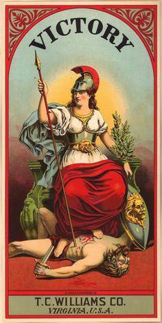 Victory Cigarettes (circa 1872 - 1918)