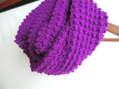Infinity Scarf Bright Violet