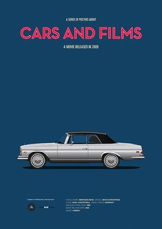 Poster of the car from The Hangover. Illustration Jesús Prudencio. Cars And Films