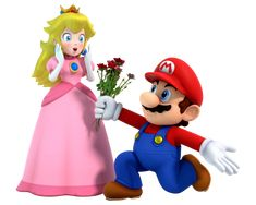 Mario and Peach: Roses for the Lady by on DeviantArt Mario Bros., Mario And Luigi, Mario Kart, Peach Mario, Mario And Princess Peach, Mundo Super Mario, Super Mario Bros, Princes Peach, Mario Crafts