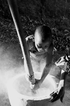 Crushing Maize Photo by Brian Maley -- National Geographic Your Shot