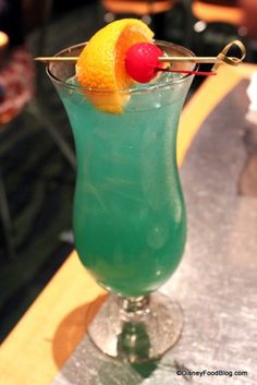 Abyss Drink - Coral Reef Restaurant- Epcot