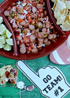Salchichas a la diabla y con tocino, 2 botanas para disfrutar los partidos de football  #VivaLaMorena [AD]  Futbol | Football | Fiestas |