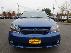 2014 Dodge Avenger R_T R/T 4dr Sedan Sedan 4 Doors Blue for sale in Monroe, WA Source: http://www.usedcarsgroup.com/new-dodge-for-sale