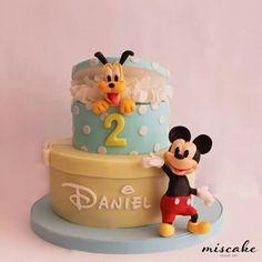 Tarta Cake Mickey Mouse Birthday