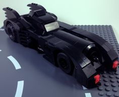 I absolutely love this model of the 1989 Batmobile from the Lego Batman 3 video game.  In this scale, I think this is as good as it gets when it comes to accuracy (overall shaping and details).  It is definitely my favorite Lego version of the 1989 Batmobile.    I built it using the instructions on Rebrickable which can be found here:  rebrickable.com/mocs/stewsucher/lego-batman-3-the-batmobi...