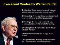 Excellent Quotes from Warren Buffet #finances #money