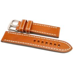 DaLuca OEM Style Leather Watch Strap - Tan : 24mm >>> You can get more details by clicking on the image.