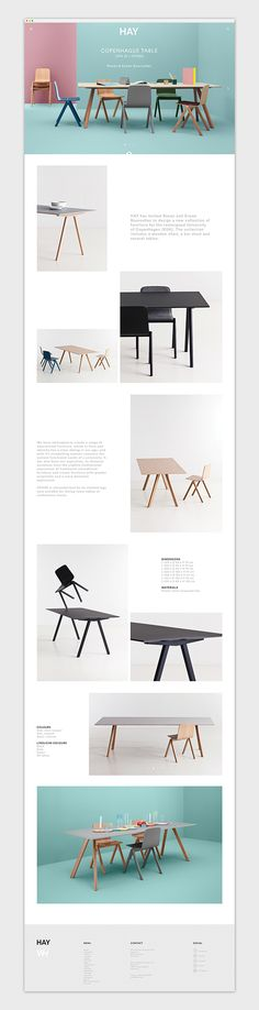 HAY by Emanuele Cecini, via Behance