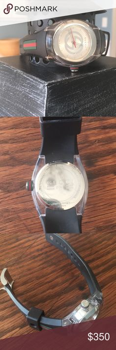 Classic Gucci watch Gorgeous new without tags Gucci watch. Awesome band with classic coloring! Gucci Accessories Watches