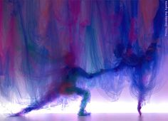 'The Dance'  tulle