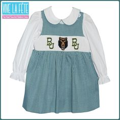 Baylor Bears!  I REALLY NEED A LITTLE GIRL!! I don't think Carson or Preston would appreciate this! ha!