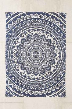 Plum & Bow Sahara Medallion Printed Rug from Urban Outfitters. Shop more products from Urban Outfitters on Wanelo. Wall Carpet, Rugs On Carpet, Mandala Rug, Deco Boheme, Classic Rugs, Gold Rug, Textiles, Round Rugs, Tapestry Wall Hanging