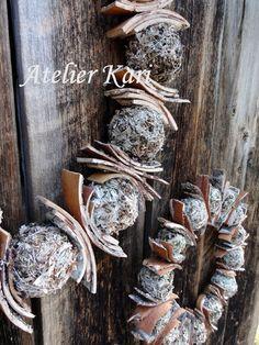 Atelier Kari naturdekorasjoner og kranser Wreaths, Natural, Food, Advent, Eten, Bouquet, Nature, Meals, Floral Arrangements