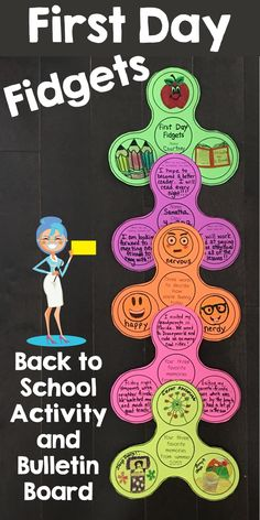 Back to School Activity that your students will love! Makes for the perfect Back to School bulletin board. Back to School Activity that your students will love! Makes for the perfect Back to School bulletin board. First Day Activities, Back To School Activities, School Resources, Library Activities, 1st Day Of School, Beginning Of The School Year, School Fun, School Ideas, Classroom Hacks