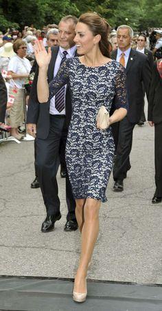 Gli abiti di pizzo - Abito di pizzo per Kate Middleton