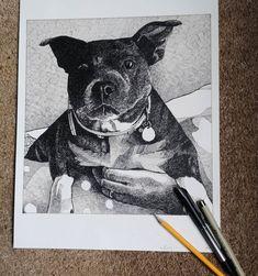 Pen & Ink Terrier, Batman, Ink, Superhero, Brown, Fictional Characters, Brown Colors, India Ink, Terriers