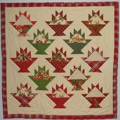 Christmas Baskets Quilt