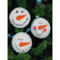 Weekend Kits Blog: Felt Christmas Craft Kits - Easy for Beginners!