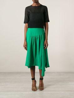 Chloé Draped Skirt - Stefania Mode - Farfetch.com
