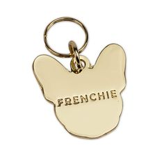 Frenchie ID Tags are the perfect additions to any of our Frenchie products. Multi-functional: - Have it engraved and use it on any of our Frenchie Collars or Harnesses to display your dog's name and i