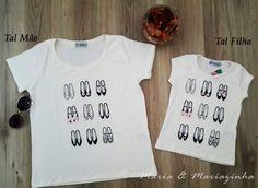 Camiseta Sapatos Tal Mãe Tal Filha