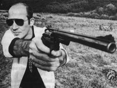 I hate to advocate drugs, alcohol, violence, or insanity to anyone, but they've always worked for me.  Hunter S. Thompson