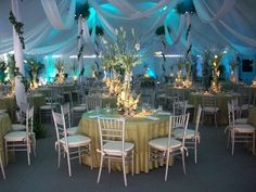 Wedding Tent Decorations