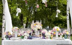 Shabby Chic Decor, Reception Photos by Fia Forever Photography - Image 1 of 38 - WeddingWire Mobile