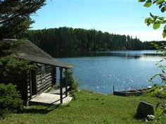 I dream of a quiet,secluded,peaceful cabin by the lake...