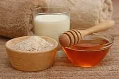 honey and oatmeal face mask