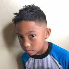 Cool Haircuts For Boys: 22 Styles For 2020 Boys Haircuts Curly Hair, Cool Hairstyles For Boys, Boys Fade Haircut, Boy Haircuts Short, Cool Boys Haircuts, Crop Haircut, Fringe Haircut, Haircut For Thick Hair, Boy Hairstyles
