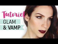 Tutoriel maquillage d'automne vamp - YouTube