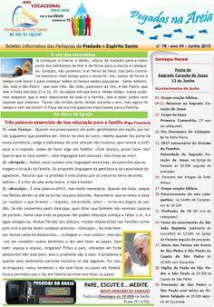 PARÓQUIAS DO PORTO SANTO: Boletim do mês de Junho